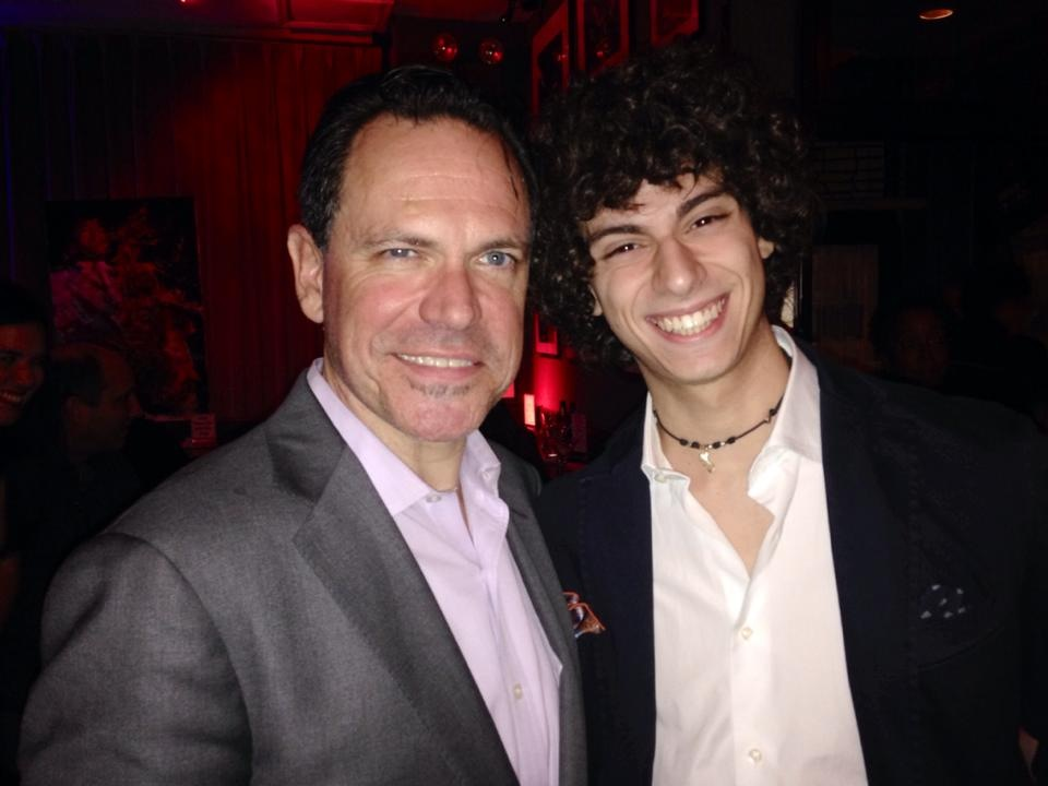 Gianluca with Kurt Elling