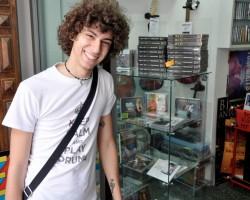 negozio di dischi Perugia