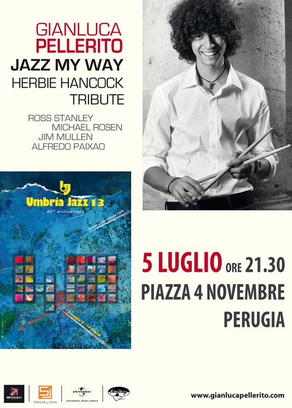 Gianluca Pellerito Umbria Jazz 13